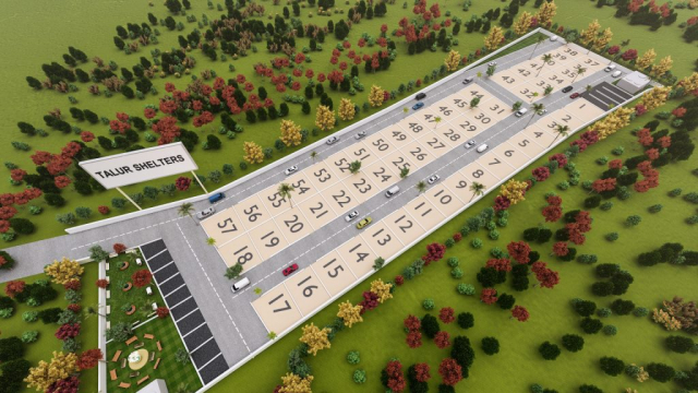3D Aerial View of Talur Shelters