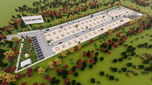 Talur Shelters by GSS Projects Mysore, 3D View