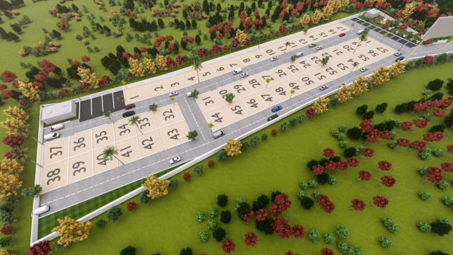 Talur Shelters 3D Aerial View